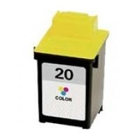 Lexmark #20 Ink Cartridge - Lexmark Remanufactured  (Color)